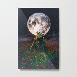 Under The Moon Spell  Metal Print