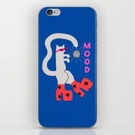 Mood Cat iPhone Skin