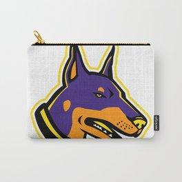 Doberman Pinscher Dog Mascot Carry-All Pouch