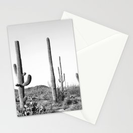 Grey Cactus Land Stationery Cards