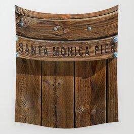 Santa Monica Pier Los Angeles Wall Tapestry