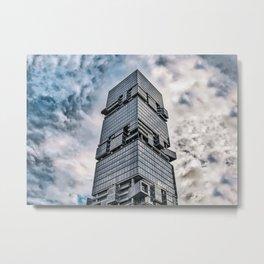 Skyscraper in Shenzhen (China) (2018-6-SHZ4) Metal Print