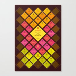 The Plays of William Shakespeare Canvas Print