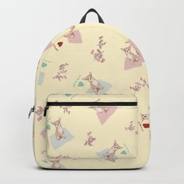 Small dogs - big love Backpack