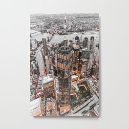 NEW YORK CITY XI Metal Print