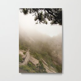 Mountain Walk Metal Print