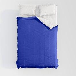 Solid Deep Cobalt Blue Color Comforters