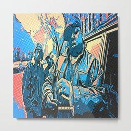 Biggie pop art Metal Print