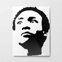Donald Glover: Staring into your Soul Metal Print