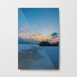 lake Ontrio sunset Metal Print
