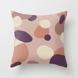 Pinot's Palette Random Abstract Shapes 2 Throw Pillow