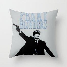 Blinders Manifest! Throw Pillow