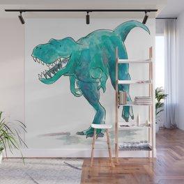 T-Rex Dinosaur Wall Mural