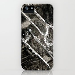 matchsticks side by side iPhone Case