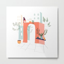 Chill afternoon Metal Print