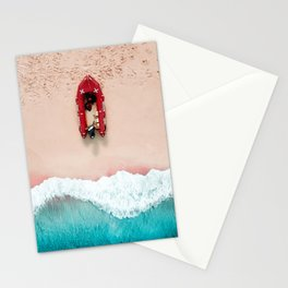 Surf Rescue | Aerial Photography  Stationery Cards
