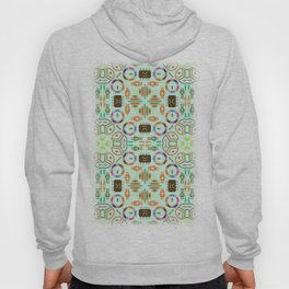 """Seamless pattern in the style of """"printed circuit board"""" Hoody"""