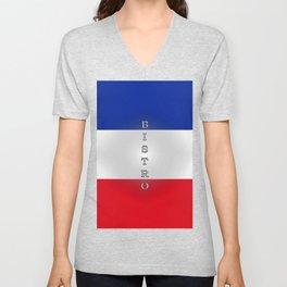 Tricolore Bistro Unisex V-Neck