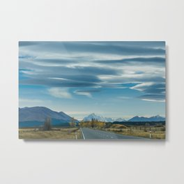 Mackenzie Skies (colour) Metal Print