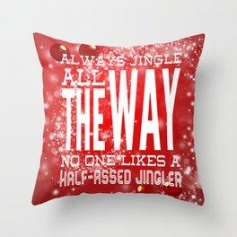 Christmas Jingle All The Way Throw Pillow