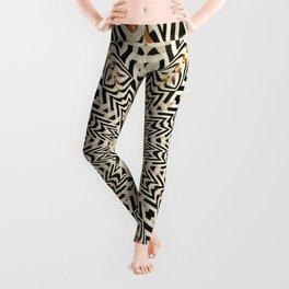 African Starburst 4 Leggings