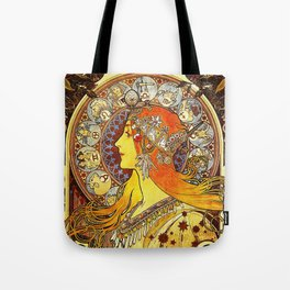 The Signs of the Zodiac Tote Bag