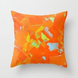 Cadmium Stone Throw Pillow