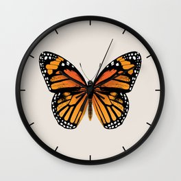 Monarch Butterfly | Vintage Butterfly | Wall Clock