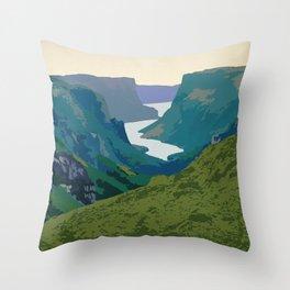 Gros Morne Throw Pillow