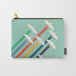 The Cranes Carry-All Pouch