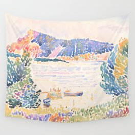 Cap Nègre by Henri-Edmond Cross 1909, French Wall Tapestry