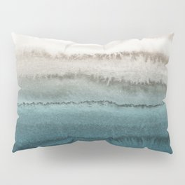 WITHIN THE TIDES - CRASHING WAVES TEAL Pillow Sham