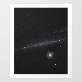 Planets lost in the vast of Space: 05 Art Print