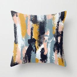 Amelia Abstract Throw Pillow