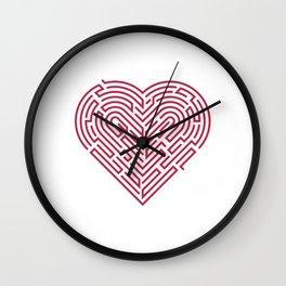 Hart Labyrint Wall Clock