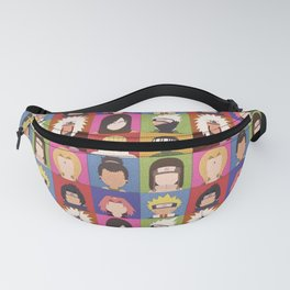Anime Characters Fanny Pack
