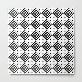 optical pattern 71 Metal Print
