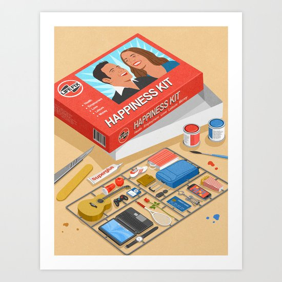 How to build happiness by johnholcroft