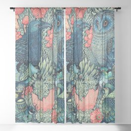 Cosmic Egg Sheer Curtain