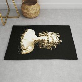 Gold Medusa Rug