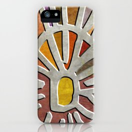Tribal Maps - Magical Mazes #03 iPhone Case