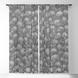 Totally Gothic Sheer Curtain