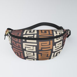 African Kuba Cloth Fanny Pack