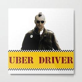 Taxi Driver Update Metal Print