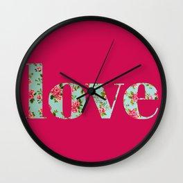 Amor a la antigua Wall Clock
