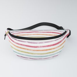 Rainbow Stripes Fanny Pack