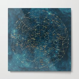 Under Constellations Metal Print