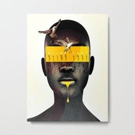 blind love Metal Print