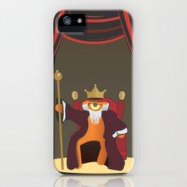 king le[ye]ar iPhone Case