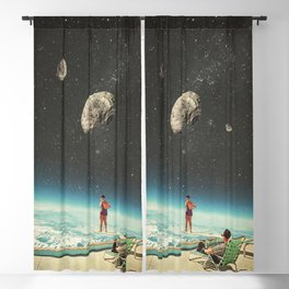 Summer with a Chance of Asteroids Blackout Curtain
